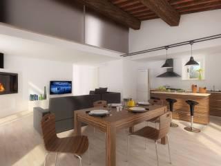 Foto - Villa, da ristrutturare, 126 mq, Sestano, Castelnuovo Berardenga
