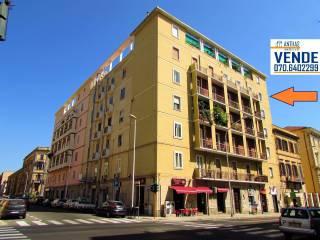 Foto - Appartamento via Sidney Sonnino 99, San Benedetto, Cagliari