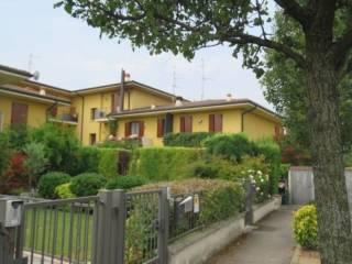 Foto - Villetta a schiera via Boccaccio, Ghedi