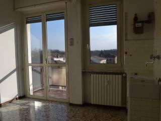 Foto - Trilocale buono stato, terzo piano, Casale Monferrato