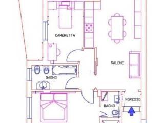 Foto - Bilocale ottimo stato, terzo piano, Montesilvano