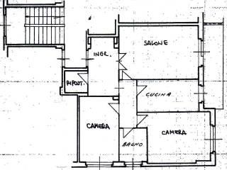Foto - Trilocale da ristrutturare, quinto piano, Monteverde Nuovo, Roma