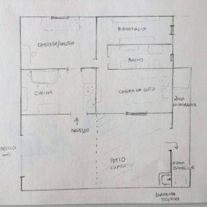 planimetria Appartamento Vendita Alcamo