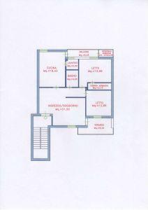 planimetria Appartamento Vendita Assemini