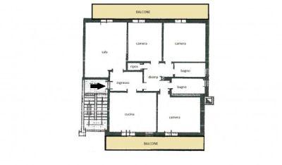 planimetria Appartamento Vendita Calderara Di Reno