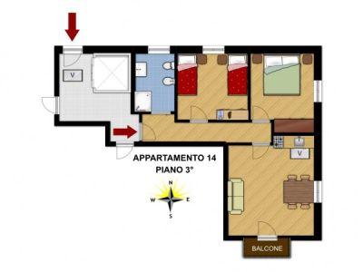 planimetria Appartamento Vendita Champorcher