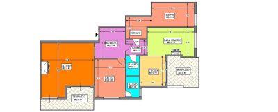 planimetria Appartamento Vendita Ciampino