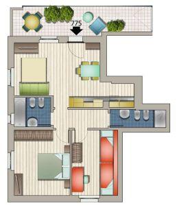 planimetria Appartamento Vendita Corsico