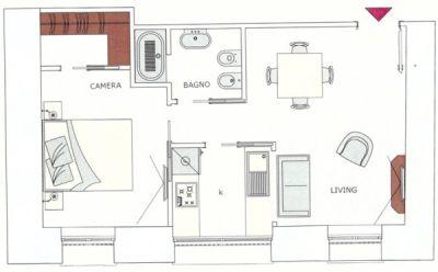 planimetria Appartamento Vendita Cuneo