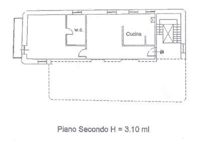 planimetria Appartamento Vendita Fermo