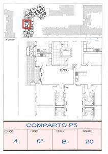 planimetria Appartamento Vendita Fiumicino
