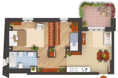 planimetria Appartamento Vendita Pioltello
