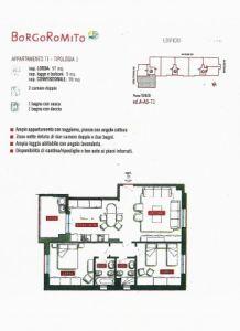 planimetria Appartamento Vendita Prato