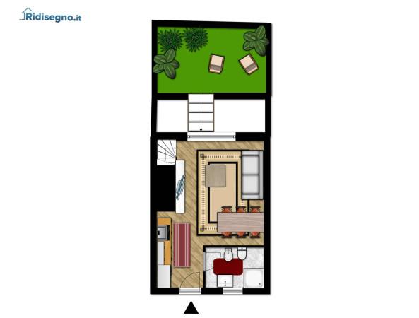 foto Piano Terra Appartamento in Vendita a Roma