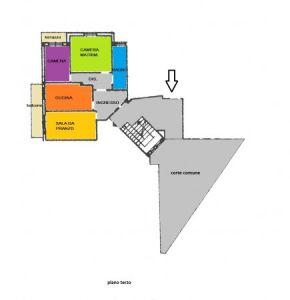planimetria Appartamento Vendita Tolentino