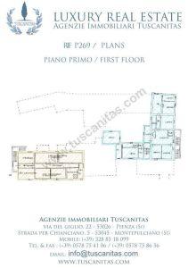 planimetria Rustico / Casale Vendita Pienza