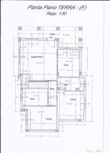 planimetria Villa Vendita San Cesareo