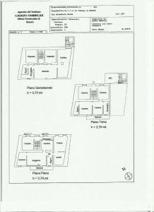 planimetria Villetta a schiera Vendita Baunei