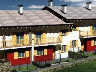 Foto - Villetta a schiera, nuova, Levico Terme