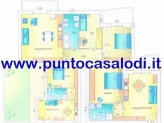 Foto - Palazzo / Stabile due piani, nuovo, Massalengo