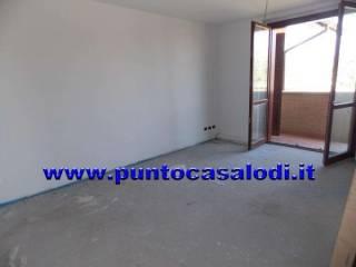 Foto - Trilocale nuovo, primo piano, Massalengo