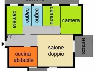 Foto - Quadrilocale via Roma, Bareggio