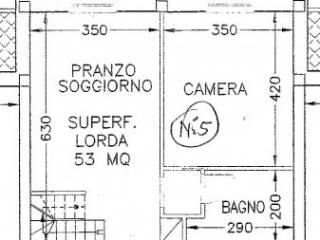 Foto - Attico / Mansarda nuovo, 75 mq, Crocette, Castelfidardo