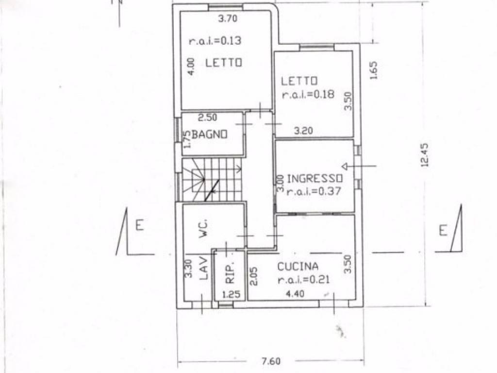 foto planim. I piano Terreno edificabile residenziale a Mascali