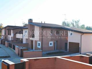Foto - Villetta a schiera 3 locali, nuova, Coazzano, Vernate