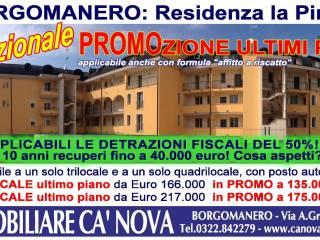 Foto - Trilocale via Cureggio 10-12, Borgomanero