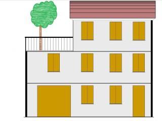 Foto - Palazzo / Stabile tre piani, da ristrutturare, Lugo