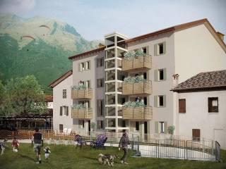Foto - Trilocale via Cavarzano, Centro città, Belluno