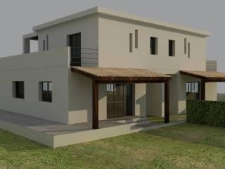 Foto - Villa, nuova, 120 mq, Milioti, Carini