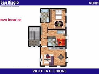Foto - Attico / Mansarda via Vittorio Veneto 44, Villotta, Chions