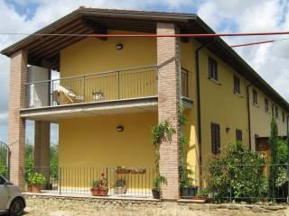 Foto - Villetta a schiera Località Vitiano 241, Puliciano, Arezzo