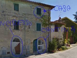 Foto - Trilocale via della Fonte 50, Pieve A Presciano, Pergine Valdarno
