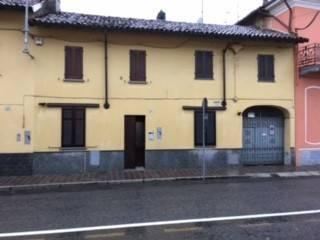 Foto - Villetta a schiera via Cesare Battisti 13, Tromello