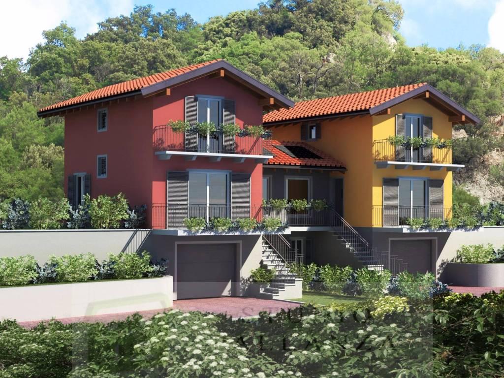 foto Rendering Villa via Ompio, San Bernardino Verbano