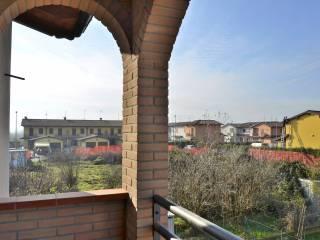 Foto - Villetta a schiera 4 locali, nuova, Pozzaglio Ed Uniti