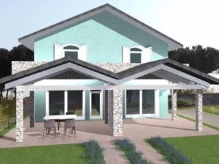 Foto - Villa bifamiliare, nuova, 150 mq, Pavone del Mella