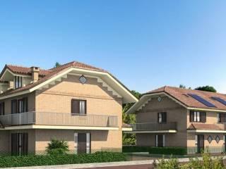 Foto - Villetta a schiera 5 locali, nuova, Villaggio, Caselette