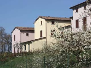 Foto - Villetta a schiera via Santa Maria delle Vertighe, Vertighe, Monte San Savino