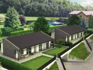 Foto - Villa, nuova, 125 mq, Albese con Cassano