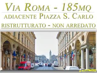 Foto - Quadrilocale ottimo stato, quarto piano, Via Roma, Torino
