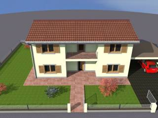 Foto - Villa, nuova, 170 mq, Garbagna Novarese