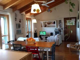 Foto - Trilocale via Madre Geltrude Comensoli 7, Lavagna, Comazzo