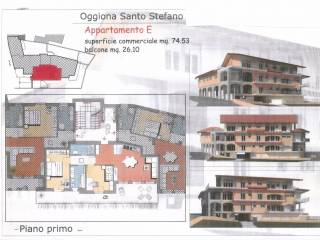 Foto - Trilocale nuovo, primo piano, Oggiona Con Santo Stefano