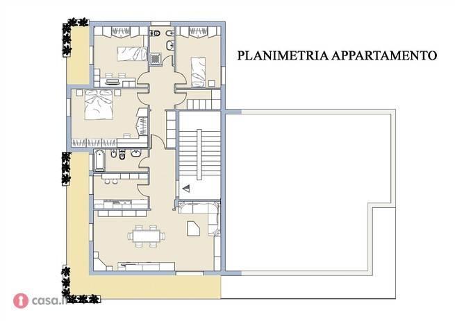 foto  4-room flat good condition, second floor, Palestrina