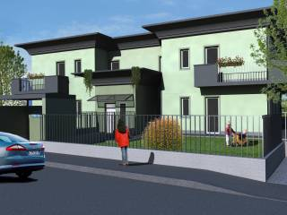 Foto - Appartamento nuovo, primo piano, Lomazzo