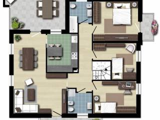 Foto - Villa, nuova, 145 mq, Traversagna, Massa E Cozzile